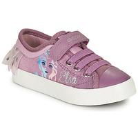 Scarpe Bambina Sneakers basse Geox JR CIAK GIRL Viola