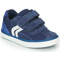 Scarpe Bambino Sneakers basse Geox B KILWI BOY Blu / Bianco