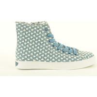 Scarpe Donna Sneakers alte Lelli Kelly donna sneakers alte LK7248 ELLEN Azzurro a fantasia