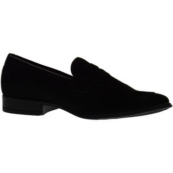 Scarpe Uomo Mocassini Antica Cuoieria scarpe uomo mocassini 19763-A-S67 AMALFI NERO Pelle