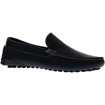 Scarpe Uomo Mocassini Antica Cuoieria scarpe uomo mocassini 20109-V-V03 VELA BLU Pelle