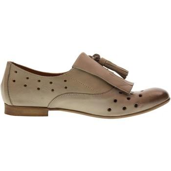 Scarpe Donna Derby Erman's scarpe donna mocassino 230 TORTORA Pelle