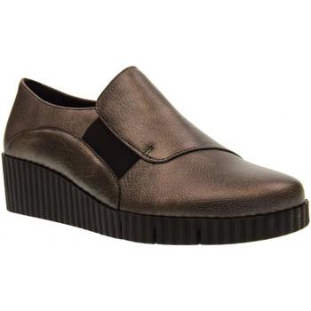 Scarpe Donna Mocassini The Flexx scarpe donna mocassini zeppa D2037 09 MILA JOVICH Pelle