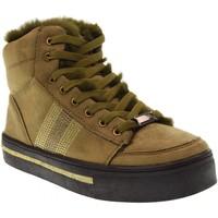 Scarpe Donna Sneakers alte B3D Shoes scarpe donna sneakers alte 41542 kaki Kaki