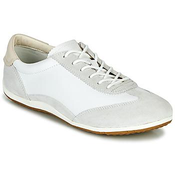 Scarpe Donna Sneakers basse Geox D VEGA Bianco / Grigio