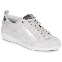 Scarpe Donna Sneakers basse Geox D MYRIA Bianco / Argento