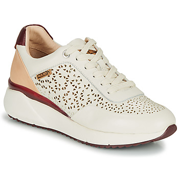 Scarpe Donna Sneakers basse Pikolinos SELLA W6Z Bianco / Bordeaux