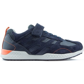 Scarpe Unisex bambino Sneakers basse Geox Sneakers  J SNAKE 2 NAVY