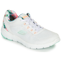 Scarpe Donna Fitness / Training Skechers FLEX APPEAL 3.0 Bianco