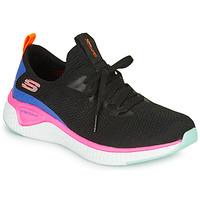 Scarpe Donna Fitness / Training Skechers SOLAR FUSE Nero / Rosa / Blu