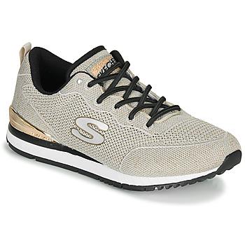 Scarpe Donna Sneakers basse Skechers SUNLITE MAGIC DUST Grigio / Oro