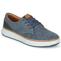 Scarpe Uomo Sneakers basse Skechers MORENO EDERSON Blu / Marrone