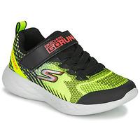Scarpe Bambino Multisport Skechers GO RUN 600 BAXTUX Nero / Giallo