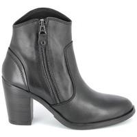 Scarpe Donna Stivaletti Porronet Boots Acap Noir Nero