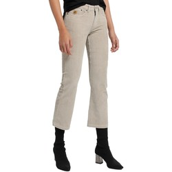 Abbigliamento Donna Pantaloni 5 tasche Lois Pantalon Velours Beige  Pana-Coty 582 Beige