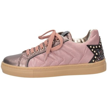 Scarpe Bambina Sneakers basse Romagnoli 4674-916 Sneakers Bambina Rosa Rosa