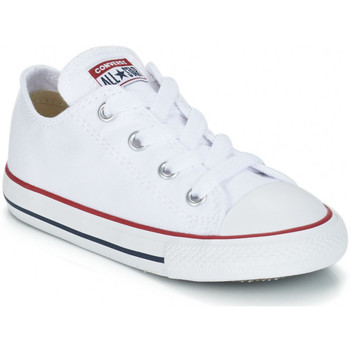 Scarpe Unisex bambino Sneakers basse Converse CHUCK TAYLOR Blanc
