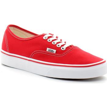 Scarpe Sneakers basse Vans AUTHENTIC Rouge