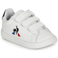 Scarpe Unisex bambino Sneakers basse Le Coq Sportif COURTSET INF Bianco