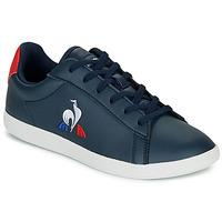 Scarpe Unisex bambino Sneakers basse Le Coq Sportif COURTSET GS Marine / Rosso