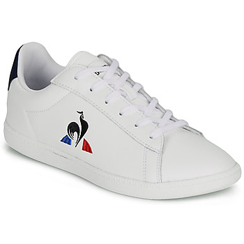 Scarpe Unisex bambino Sneakers basse Le Coq Sportif COURTSET GS Bianco