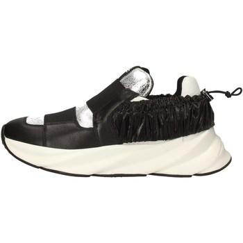 Scarpe Donna Sneakers basse Elena Iachi E2215 NERO
