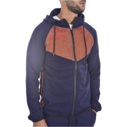 Abbigliamento Uomo Felpe Goldenim Paris Felpa zip 111 blu