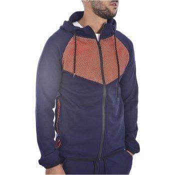Abbigliamento Uomo Felpe Goldenim Paris Felpa zip 111 - Uomo blu