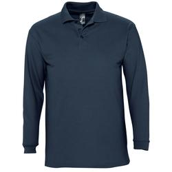 Abbigliamento Uomo Polo maniche lunghe Sols WINTER 2 CASUAL MEN Azul