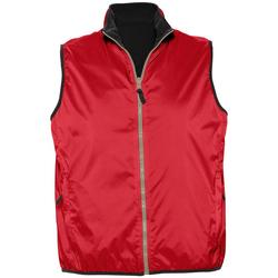 Abbigliamento Gilet / Cardigan Sols WINNER UNISEX REVERSIBLE Rojo