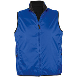 Abbigliamento Gilet / Cardigan Sols WINNER UNISEX REVERSIBLE Azul
