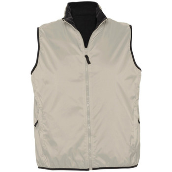 Abbigliamento Gilet / Cardigan Sols WINNER UNISEX REVERSIBLE Beige