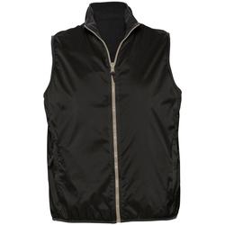 Abbigliamento Gilet / Cardigan Sols WINNER UNISEX REVERSIBLE Negro