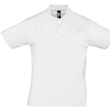 Abbigliamento Uomo Polo maniche corte Sols PRESCOTT CASUAL DAY Blanco