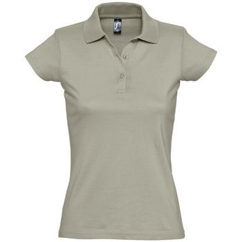 Abbigliamento Donna Polo maniche corte Sols PRESCOTT CASUAL DAY Beige
