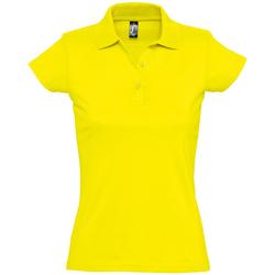 Abbigliamento Donna Polo maniche corte Sols PRESCOTT CASUAL DAY Amarillo