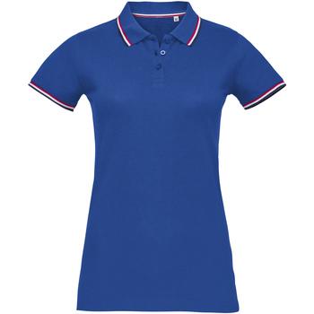Abbigliamento Donna Polo maniche corte Sols PRESTIGE MODERN WOMEN Azul