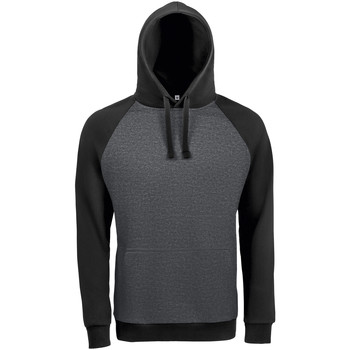 Abbigliamento Uomo Felpe Sols SEATTLE KANGAROO MEN Negro
