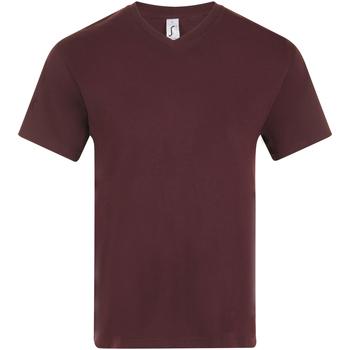 Abbigliamento Uomo T-shirt maniche corte Sols VICTORY COLORS Violeta