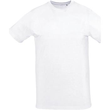 Abbigliamento Uomo T-shirt maniche corte Sols SUBLIMA CASUAL MEN Blanco