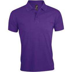 Abbigliamento Uomo Polo maniche corte Sols PRIME ELEGANT MEN Violeta