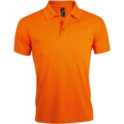 Abbigliamento Uomo Polo maniche corte Sols PRIME ELEGANT MEN Naranja