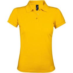 Abbigliamento Donna Polo maniche corte Sols PRIME ELEGANT WOMEN Amarillo