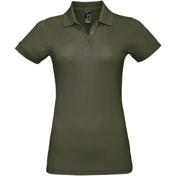 Abbigliamento Donna Polo maniche corte Sols PRIME ELEGANT WOMEN Verde