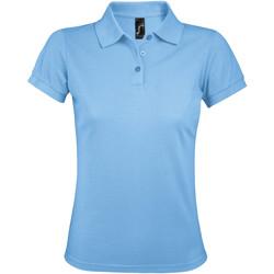 Abbigliamento Donna Polo maniche corte Sols PRIME ELEGANT WOMEN Azul
