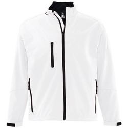 Abbigliamento Uomo Giubbotti Sols RELAX SOFTSHELL Blanco