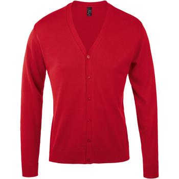Abbigliamento Uomo Gilet / Cardigan Sols GOLDEN ELEGANT MEN Rojo