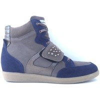 Scarpe Donna Sneakers alte Andrea Morelli ATRMPN-01698 Grigio