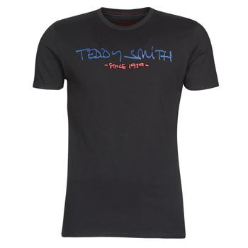 Abbigliamento Uomo T-shirt maniche corte Teddy Smith TICLASS Nero
