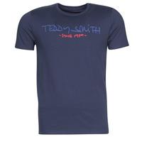 Abbigliamento Uomo T-shirt maniche corte Teddy Smith TICLASS Marine